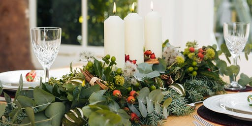 Deck the Halls: Christmas Table Decoration Workshop