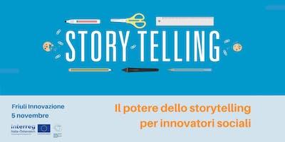 Il potere dello storytelling per innovatori sociali