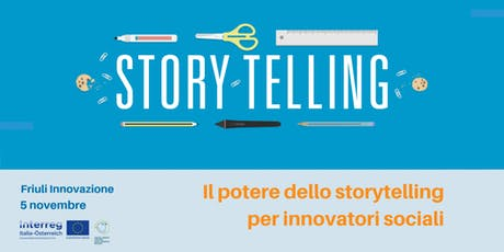 Il potere dello storytelling per innovatori sociali biglietti