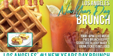 Los Angeles New Years Day Brunch Bar Crawl tickets