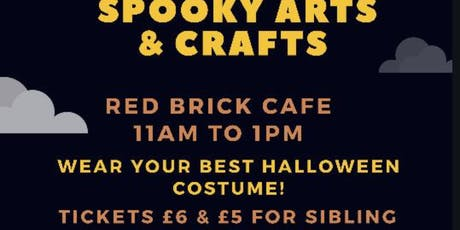 Halloween Spooky Family Fun! Come along for Arts & Crafts tickets