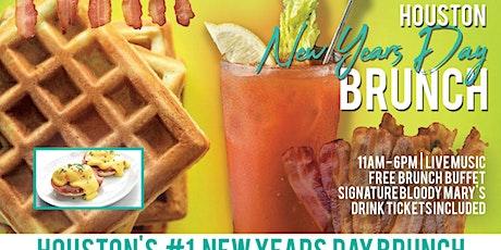 Houston New Years Day Brunch Bar Crawl tickets