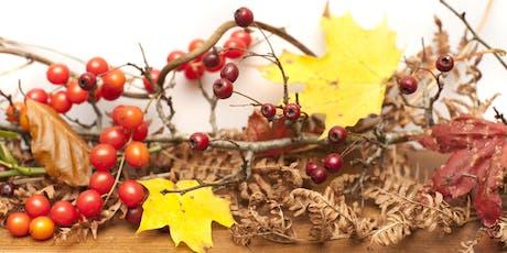 Autumn Wreaths and Wander tickets