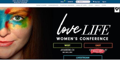 Joyce Meyers Love Life Women's Conference, North Charleston, South Carolina