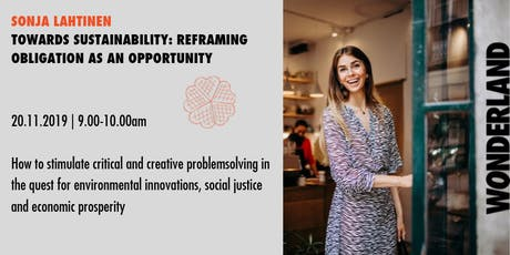 Waffle Wednesday: Towards sustainability - obligation to opportunity tickets