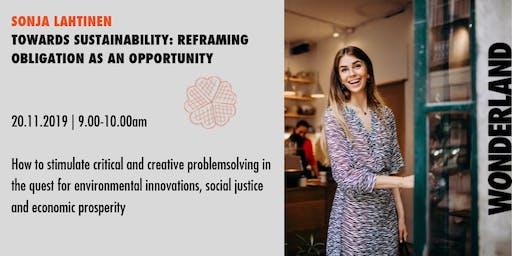 Waffle Wednesday: Towards sustainability - obligation to opportunity