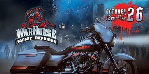 April Red ROCKS Halloween Extravaganza at War Horse Harley!