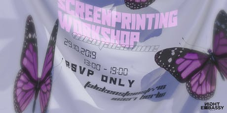Wemaisnone present: Screenprinting Workshop tickets