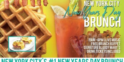New York City New Years Day Brunch Bar Crawl