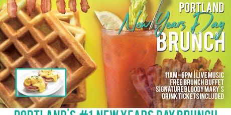 Portland New Years Day Brunch Bar Crawl tickets