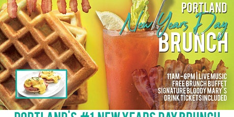 Portland New Years Day Brunch Bar Crawl tickets