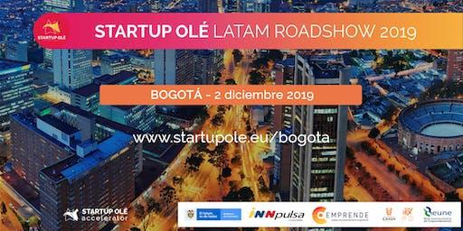 STARTUP OLÉ LATAM ROADSHOW 2019 - BOGOTÁ - COLOMBIA