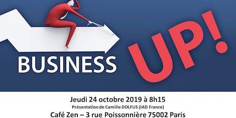 Réunion Club d'affaires Paris Business UP! billets