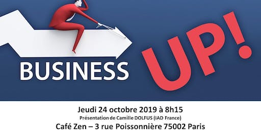Réunion Club d'affaires Paris Business UP!
