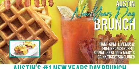 Austin New Years Day Brunch Bar Crawl tickets