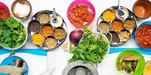 Step-by-step North Indian cooking with Priya of Deccan Tiffin