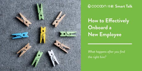 CoCoon Smart Talk: How to Effectively Onboard a New Employee tickets