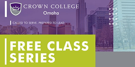 Backgrounds & Cultures of the Bible Class | Crown College Omaha | Omaha, NE tickets