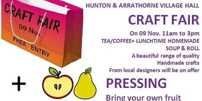 CRAFT FAIR & FRUIT PRESSING DAY