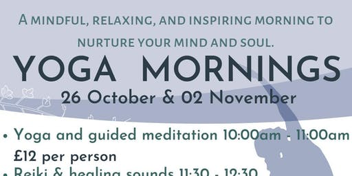 Yoga & Guided Meditation