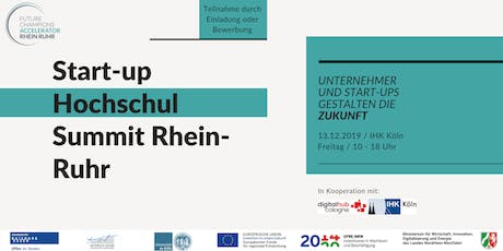 Start-up Hochschul Summit Rhein-Ruhr tickets