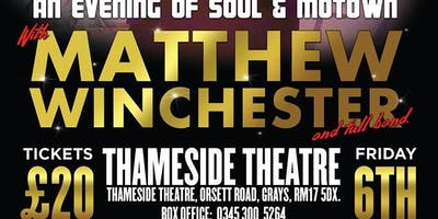 An Evening of Soul & Motown With Mr Matthew Winchester