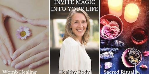 Womb healing ritual - Invite Magic into your life