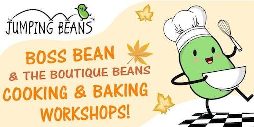 Boss Beans & Boutique Beans Halloween workshop