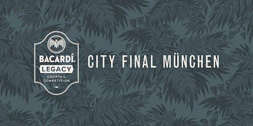 Bacardí Legacy Cocktail Competition, City Final München