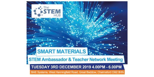 SMART Materials STEM Ambassador and Teacher Networking Event
