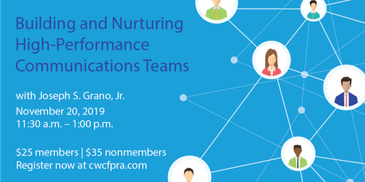 Building and Nurturing High-Performance Communications Teams