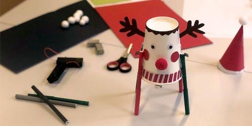 Einmaliger Workshop: Making - Weihnachtliche Drawbots