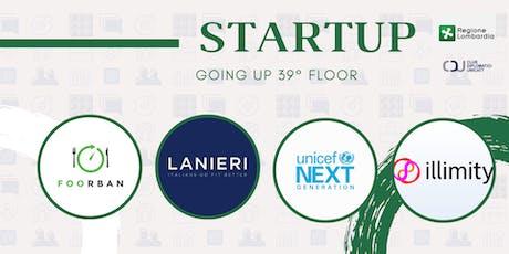 Start - UP GOING UP 39° floor biglietti