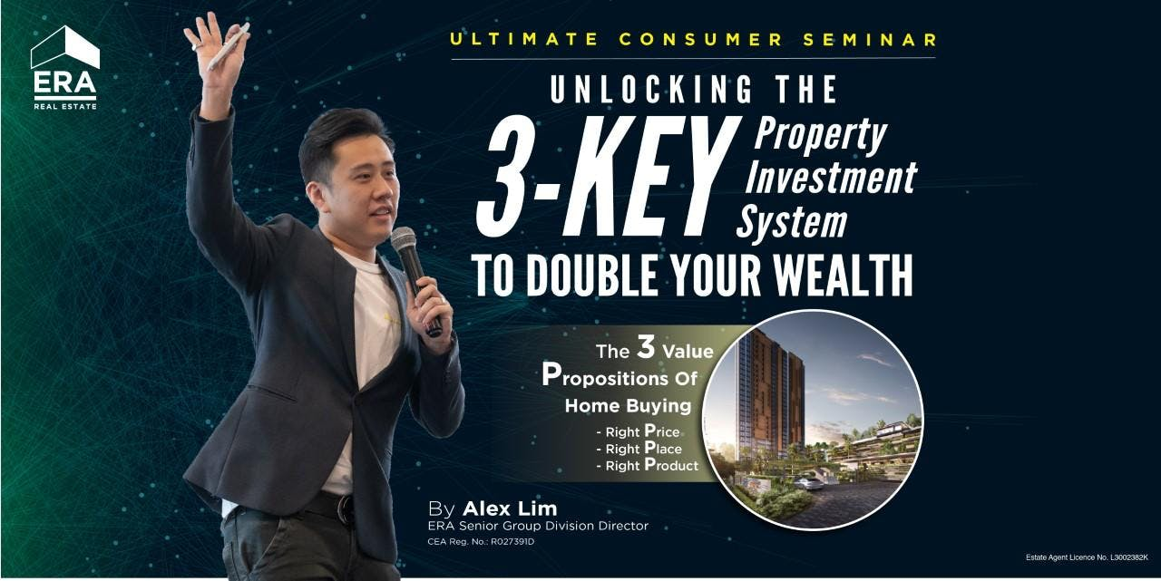 [UCS] Unlocking the 3-KEY Property Investment System to Double Your Wealth