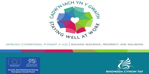 Staying Well at Work presents - International Stress Awareness Day