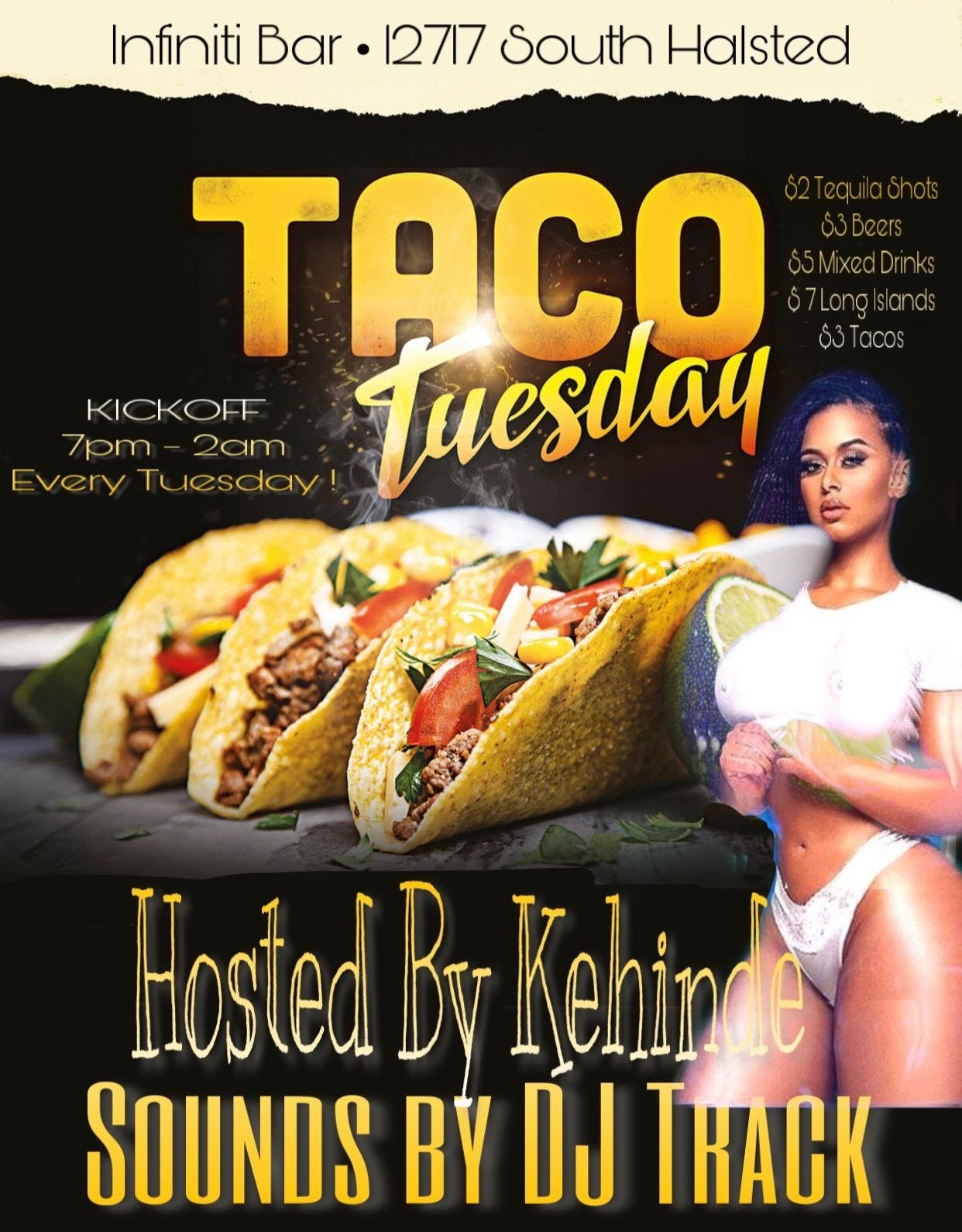 Taco Tuesday's At The Infiniti Bar