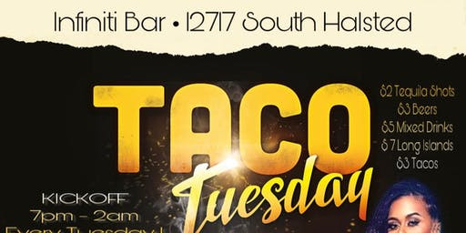Taco Tuesday's At The Infiniti Bar