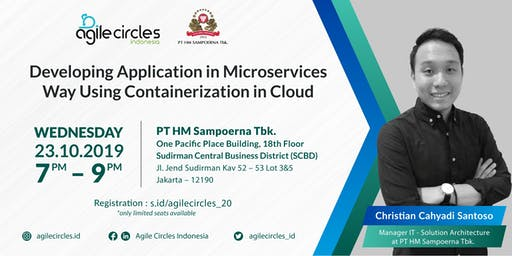 Developing Application in Microservices Way Using Containerization in Cloud