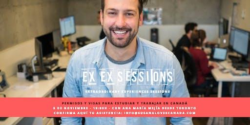 Permisos de Estudios y Visas para Canadá. Sesión Informativa EXEX Sessions