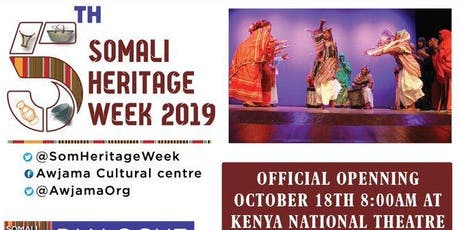 5TH Annual Somali Heritage Week tickets