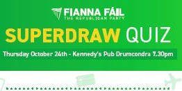 Fianna Fail Superdraw Quiz Night
