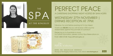 Perfect Peace Christmas Spa Event tickets