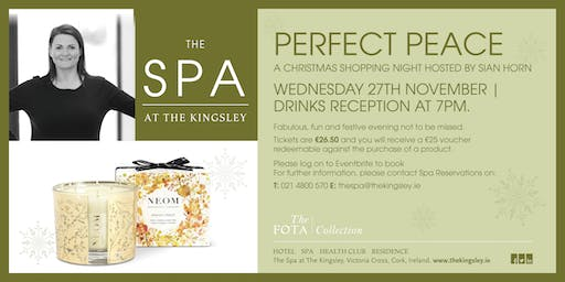 Perfect Peace Christmas Spa Event