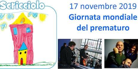 Giornata mondiale del Prematuro - Maxino, Flavio Furian & Calicanto Band! biglietti