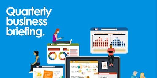 Quarterly business briefing