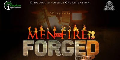 """Men On Fire Gathering 2019 themed \""""FORGED\"""""""