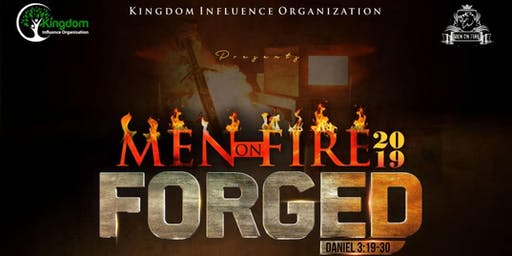"Men On Fire Gathering 2019 themed ""FORGED"""