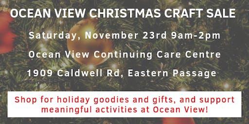 Ocean View Christmas Craft Sale