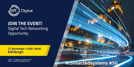 EIT Digital | Digital Tech Networking Event - 5G