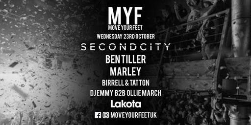 Move Your Feet w/ Secondcity